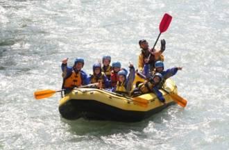 Rafting Trentino per famiglie