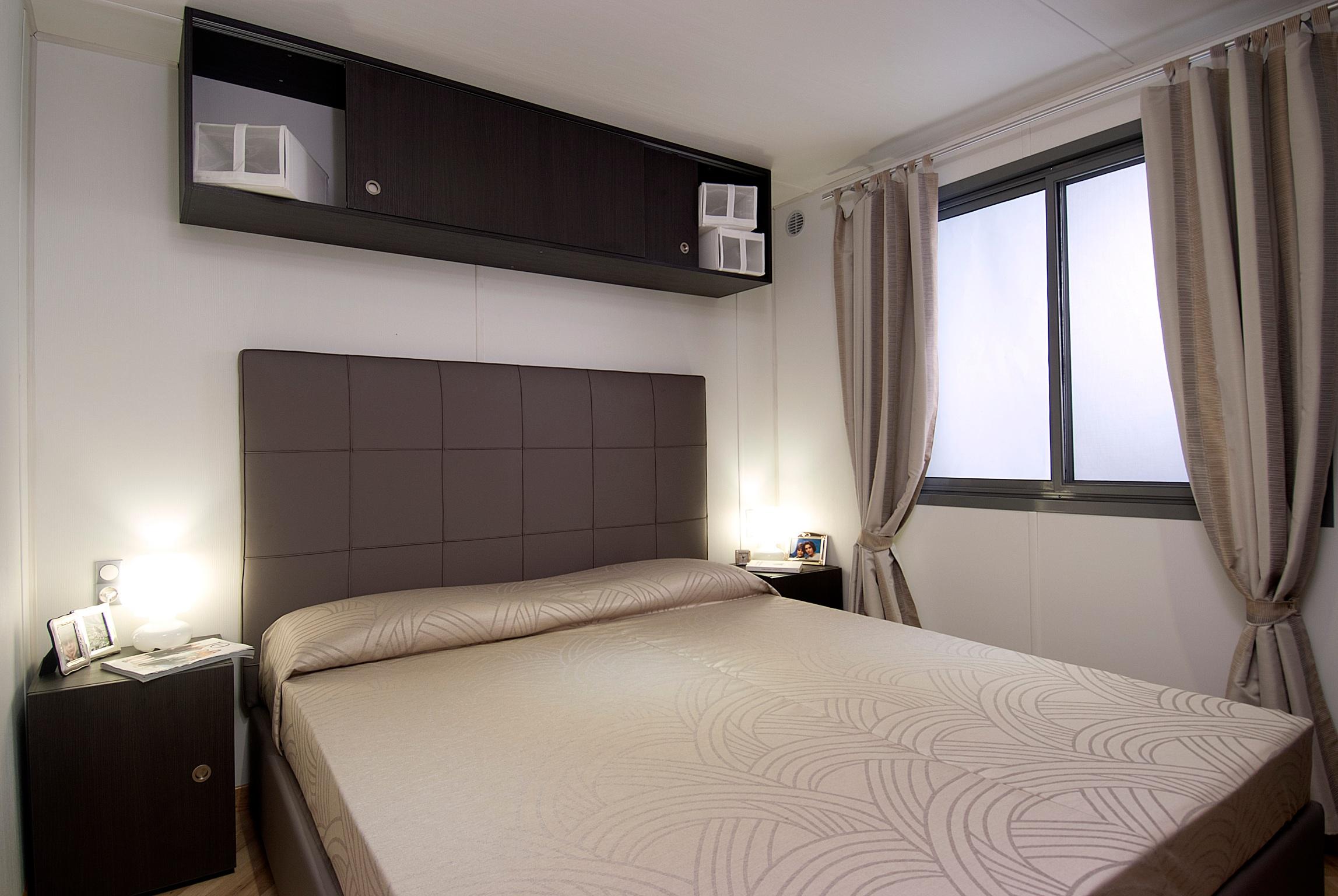 Chalet superior con 5 posti letto e terrazza camping - Mobile tv camera da letto ...